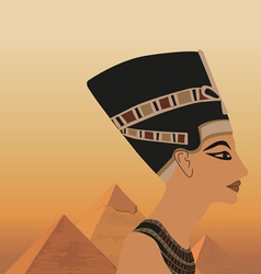 egyptian elements vector image vector image