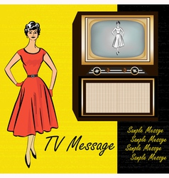 1950s Stlye Retro vector