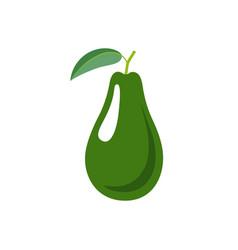 Avocado icon vector