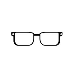 Glasses pair object vector
