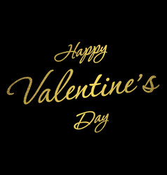 happy valentine day vector image