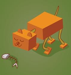Robotic cat two vector