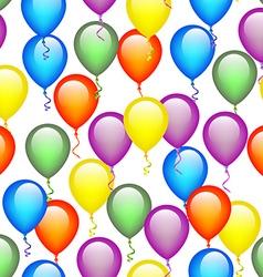 Seamless Balloon Pattern vector image