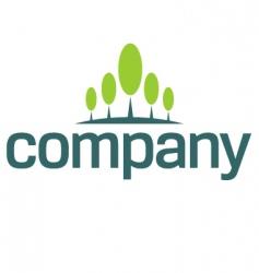 financial growth logo vector image vector image