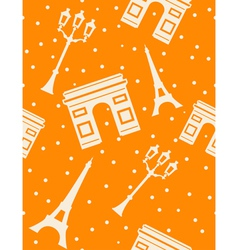 Paris - abstract seamless background vector