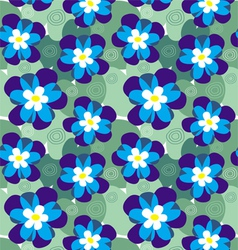 Water lilies vector image vector image