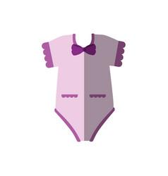 Baby clohtes design vector