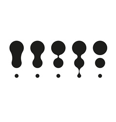 Different exclamation marks vector