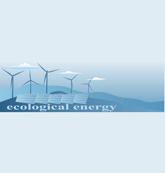 Ecological energy vector