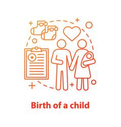 family concept icon vector image