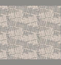 Hand drawn mesh woven texture seamless pattern vector