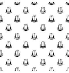 laundry shirt wash and fold pattern seamless vector image