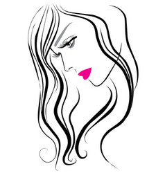 makeup icon vector image