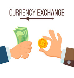 Money currency exchange concept dollar and vector