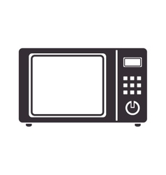 Oven electric microwave vector