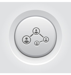 Social Connections Icon vector