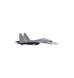 Sukhoi su-30 fighter plane vector