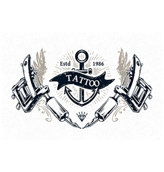 Tattoo Print 4 vector image