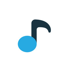 musical note colorful icon symbol premium quality vector image vector image