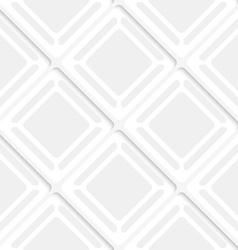 Diagonal gray squares and frames pattern vector image