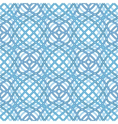Wavy texture abstract seamless pattern vector image vector image