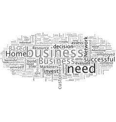 are you ready to start a home based business vector image