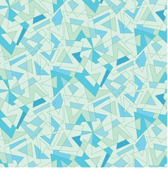 blue mosaic abstraction Seamless background vector image