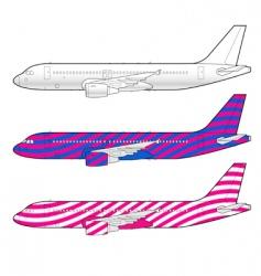 Boeing aircraft vector