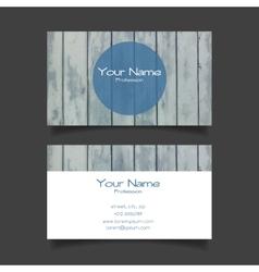 Business card modern template vector