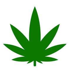 cannabis icon vector image