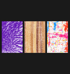 colored grunge texture vector image