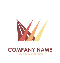 logo business icon design abstract symbol vector image