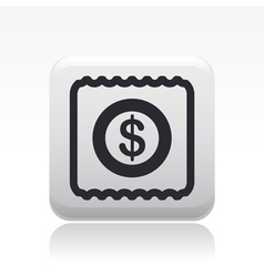 pay icon vector image