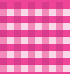 pink gingham tablecloth seamless background vector image