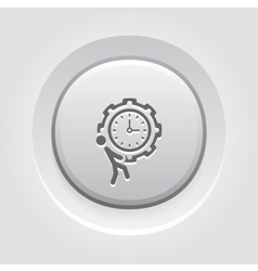 Efficiency Management Icon vector image