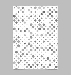 Abstract repeating dot pattern brochure background vector