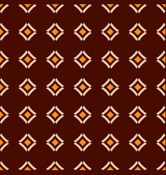 abstract seamless pattern of smooth rhombuses vector image