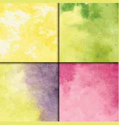 art watercolor splash style seamless vector image