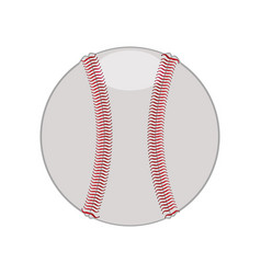 baseball ball isolated vector image
