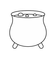 Boiler sorcerer icon outline style vector
