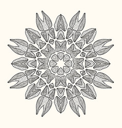 decorative mandala vector image