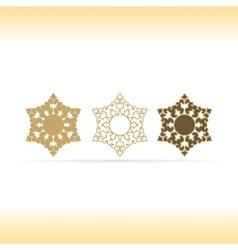 Geometric shapes or mandala decorative vector