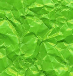 Green Crushed Paper vector