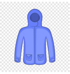 Hoodie sweater icon cartoon style vector