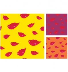 kiss me vector image