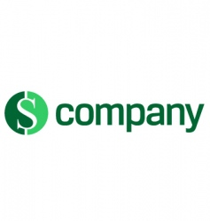 logo for finance company vector image vector image