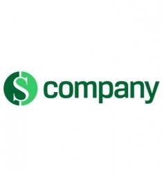 logo for finance company vector image