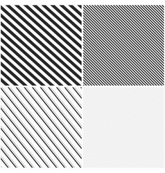 Striped patterns seamless vector