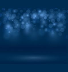 transparent sparkle blurred background vector image