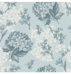 floral wallaper pattern vector image vector image